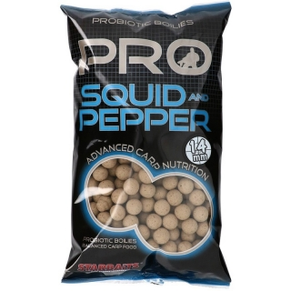 Boilies STARBAITS Probiotic Squid & Pepper 14 mm 1kg