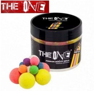 Plovoucí boilies THE ONE BLACK POP-UP BOILIES 60G