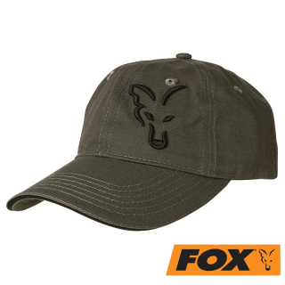 Čepice FOX GREEN & BLACK BASEBALL CAP