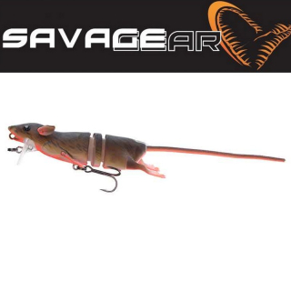 Krysa 3D Savage gear 3D Rad Bloody Red Belly 20 cm 32g