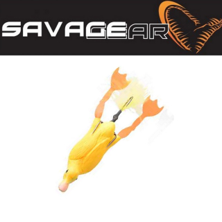 Káčátko žluté 3D Savage gear SG 3D Hollow Duckling weedless L 10cm 40g 03-Yellow