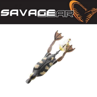 Káčátko natural 3D Savage gear SG 3D Hollow Duckling weedless L 10cm 40g 03
